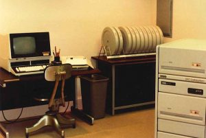 old office equipment and technology