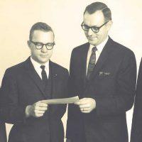 vintage photo of ruhl staff