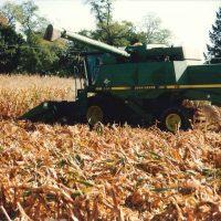 crop insurance - combine harvestor crop insurance