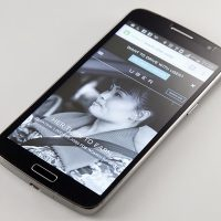 Uber website on mobile phone