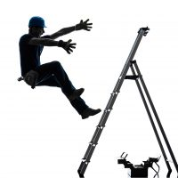 workers compensation - worker falling off ladder